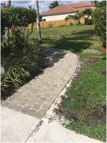 Brick Paver Driveways & Walkways