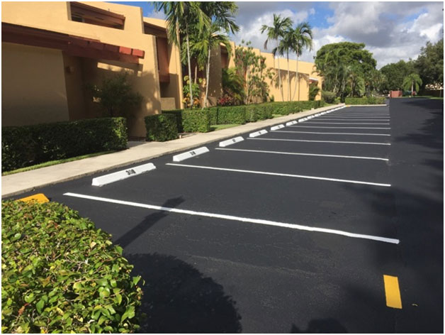 Parking Lot Line Striping